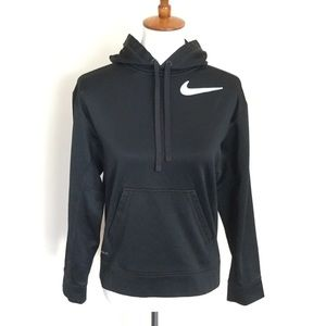 NIKE Therma-Fit Pullover Hoodie Black Small
